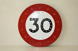 Our Cllassic 30 MPH Speed Sign