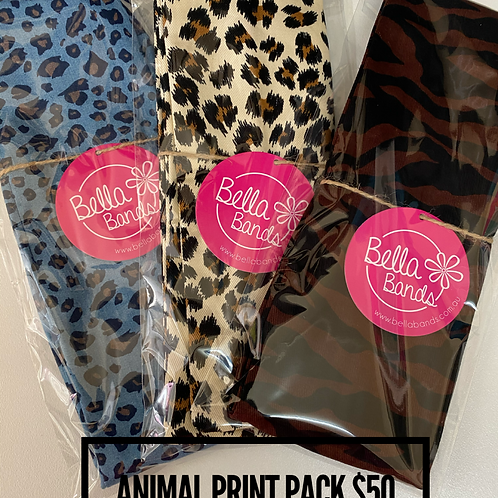 Animal print pack