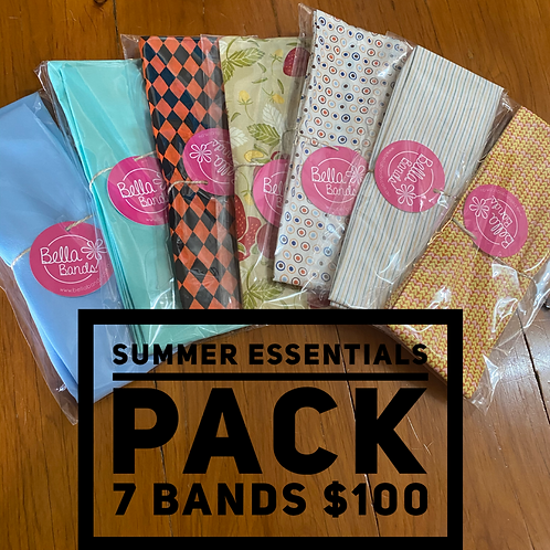 Summer essentials pack