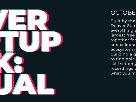 Denver Startup Week - Tech Saves the World