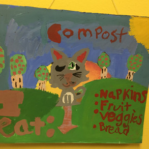 New compost sign, improved system