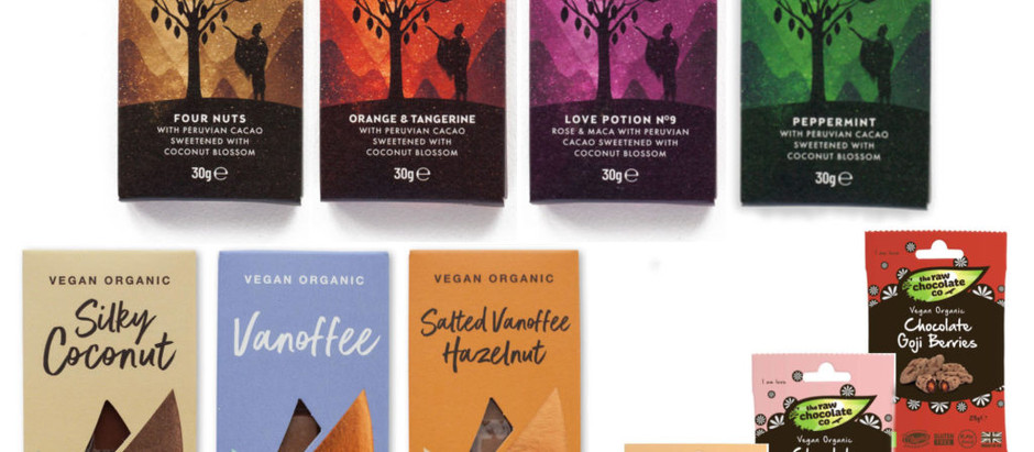 Conscious Chocolate and The Raw Chocolate Company Team Up With Work-at-Home Care Packs