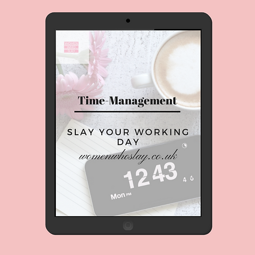 Slay Your Working Day e-book