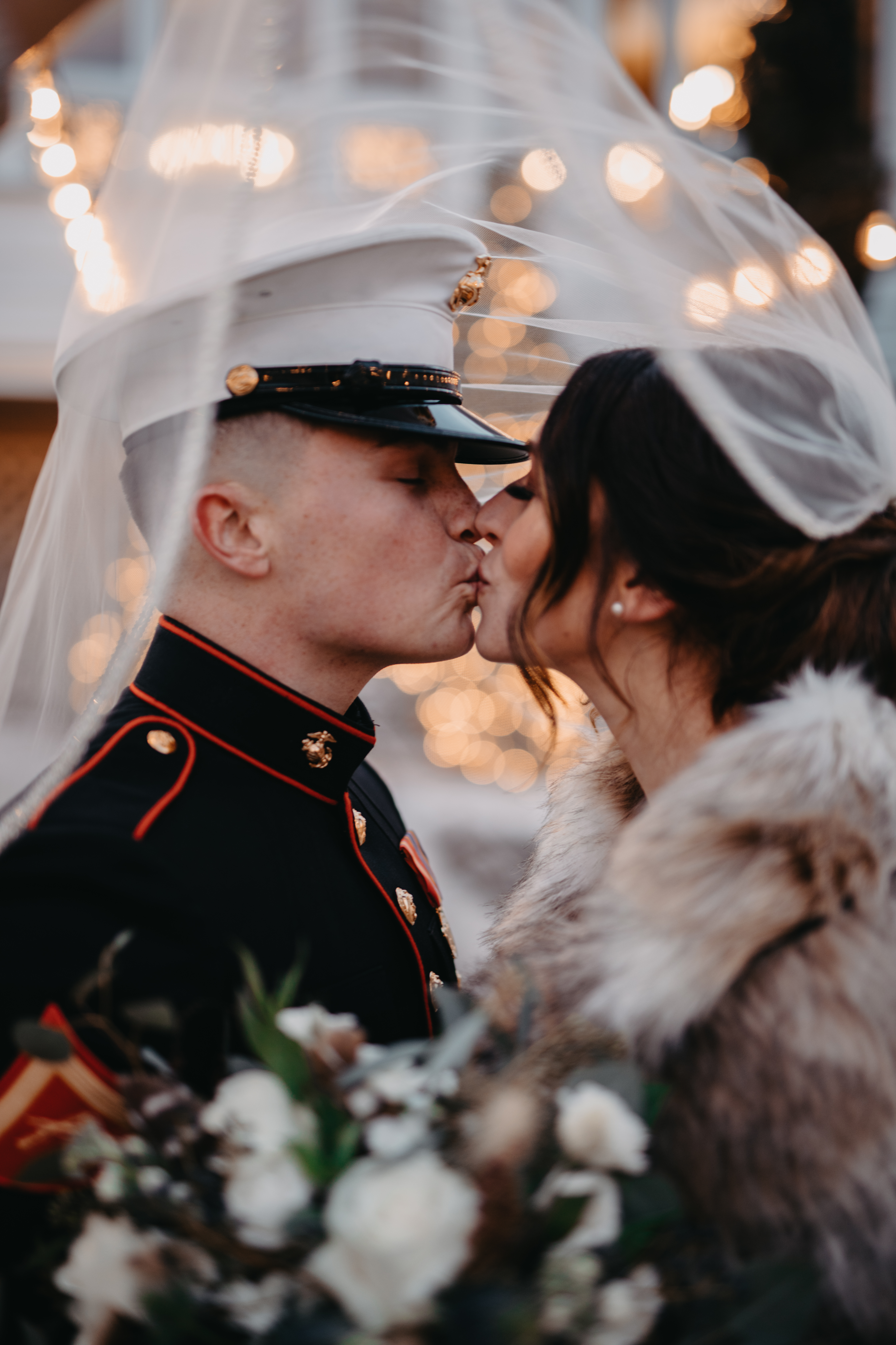 Jocelyn and Kyle's Military Winter Wedding