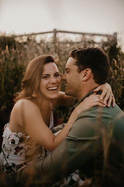 Emily and Matt's Golden Hour Engagement