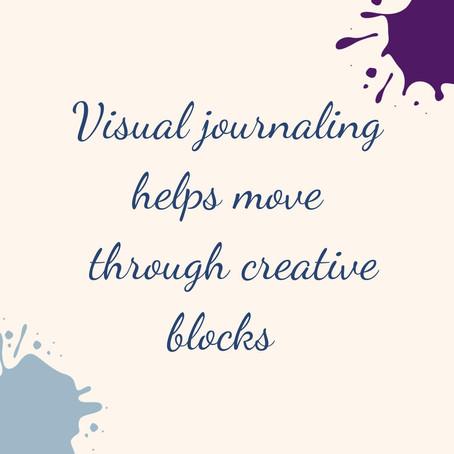 Move Past Creative Blocks with Visual Journaling