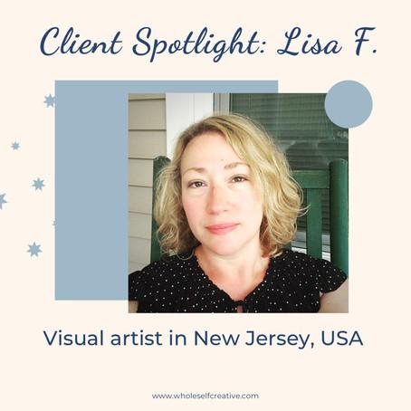 Client Spotlight: Lisa F.