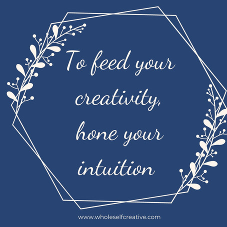 How Intuition Feeds Creativity