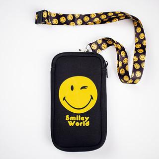 Smiley phone bag