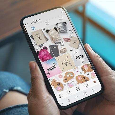 Palphot Instagram Concept