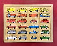 24 Puzzle de 2 pièces sur le thème des véhicules