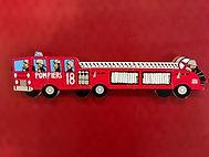 Puzzle de 5 pièces sur le thème des pompiers