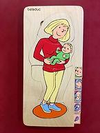 5 Puzzle de 5 ou 6 pièces sur le thème de la grossesse