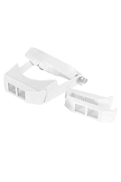 Lupa de Pala com Visor Articulado jogo de 3 lentes