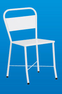 Cadeira de Aço Simples