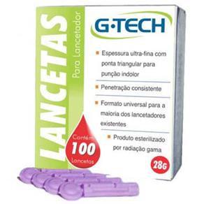 Lancetas G-Tech