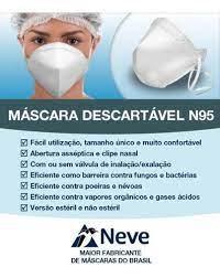 mascara N95 da neve