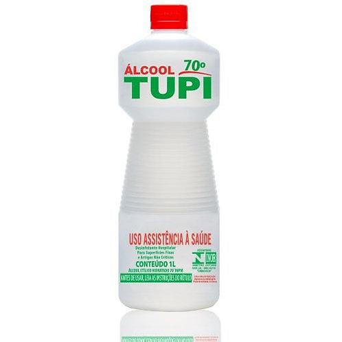 ÁLCOOL 70% 1 LITRO TUPI