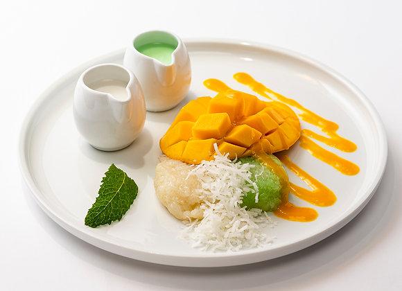 Mango Sticky Rice (Coconut & Pandan Flavour)