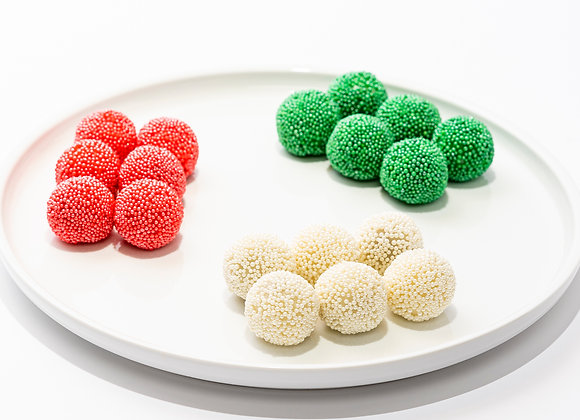 Mini Rainbow Chocolate Sprinkle Mochi (18 pcs)