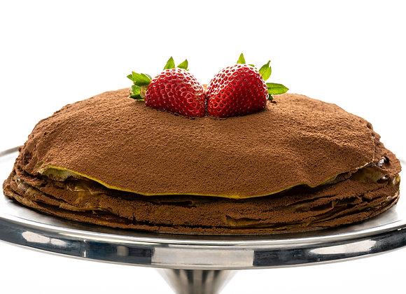"""MangoMisu Mille-Crêpe Cake (9.5"""" Whole Cake)"""