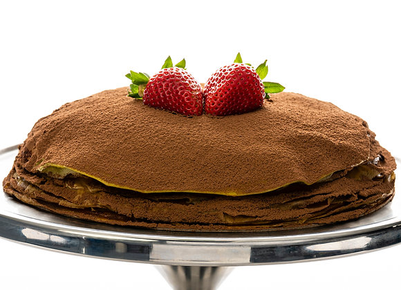 "Celebration MangoMisu Mille-Crêpe Cake (9.5"" Whole Cake & Ida's Cookies)"