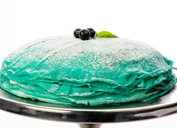 "Blueberry Mille-Crêpe Cake (9.5"" Whole Cake)"