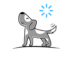 GO Waggy Tails Logo Dog walker