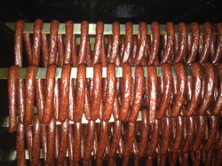 in the smoker