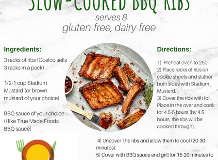 A Complete Cookout: Protein, Fiber, Healthy Fats, and Dessert!