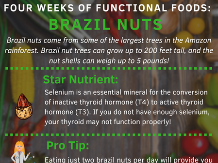 4 Weeks of Functional Foods Digest #4