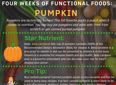 4 Weeks of Functional Foods Digest #1