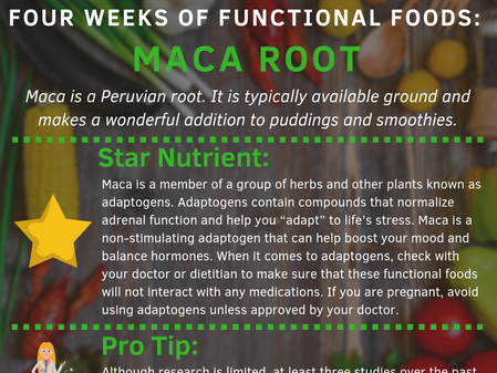 4 Weeks of Functional Foods Digest #3