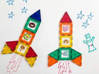 בונים חלליות- חיזוק מעקב אחר מסר מילולי