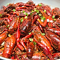 Griddle Cooked Crawfish 香锅小龙虾