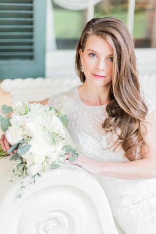 Bride at Houmas House and Gardens