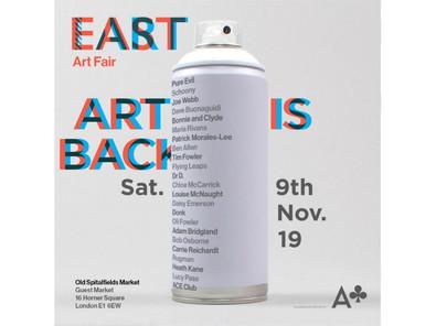 EAST Art Fair - Saturday 9 November 2019