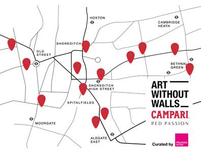 AAF/Campari 'Art Without Walls' campaign
