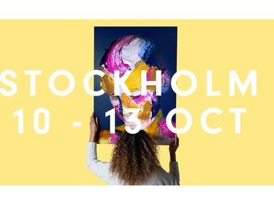 Stockholm Affordable Art Fair, 10-13 Oct 2019