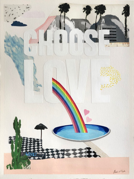 CHOOSE LOVE X Print Club London 2019