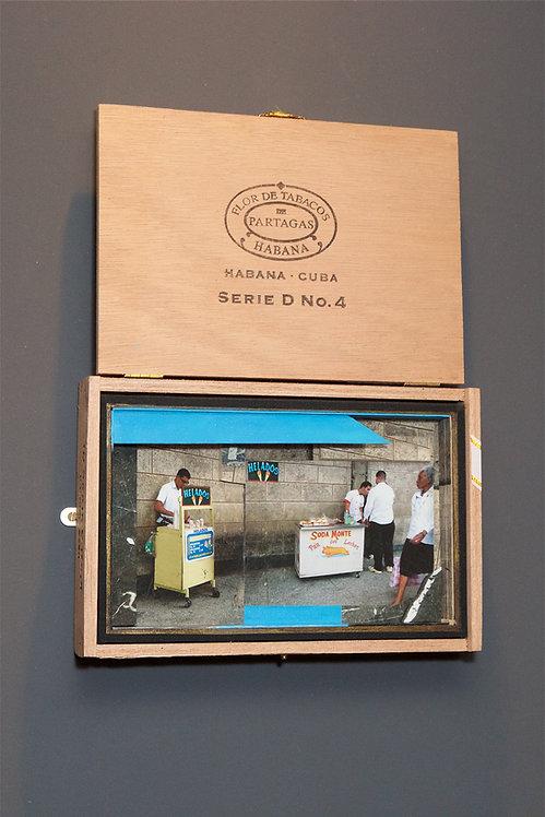 Frozen In Time - Cuban Cigar Box