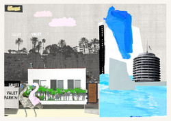from the city to the sea mini print