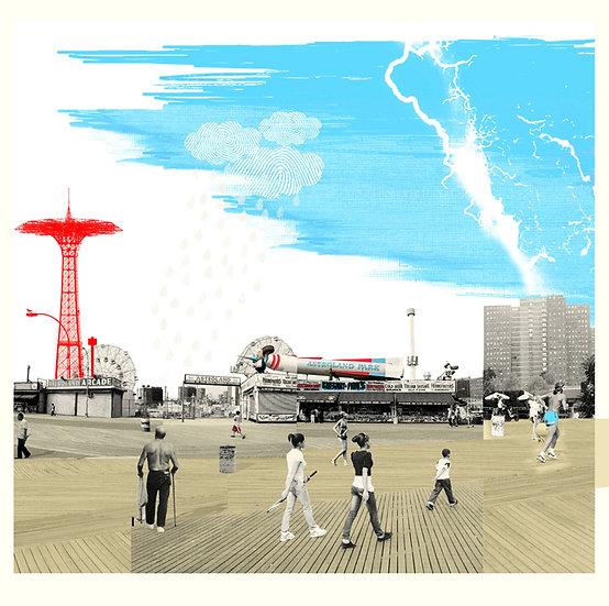 'Coney Island Boardwalk'