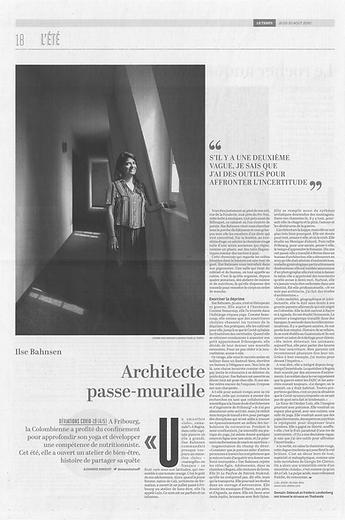 LULO - article Le Temps 08 2020