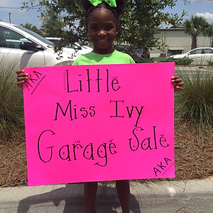 Little Miss Ivy Garage Sale
