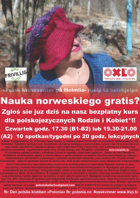 Gratis norskkurs Holmlia