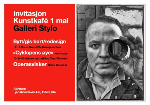 Invitasjon Kunstkafè 1 mai - Galleri Stylo
