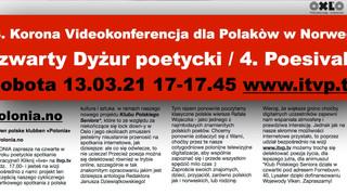 63. Korona Videokonferencja dla Polakow w Norwegii- Poesivakt 4, Seniorklubben