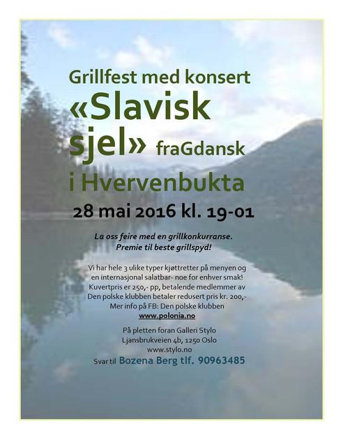 """Grillfest med """"Slavisk sjel"""""""