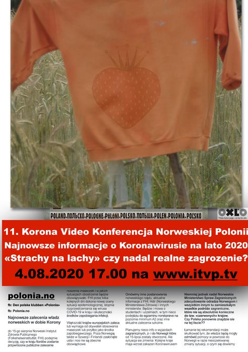 11. Korona Video Konferencja Norweskiej Polonii.